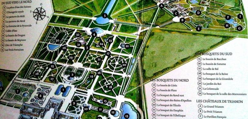 versailles estate map