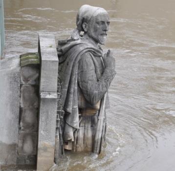 French water rain flood vocabulary
