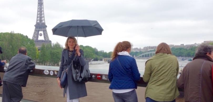french flood rain water vocabulary