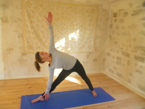 learn french yoga in france