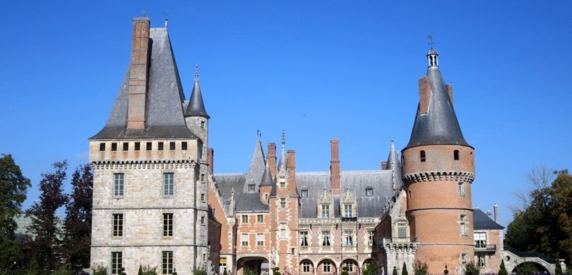 learn french easy bilingual story practice maintenon castle1