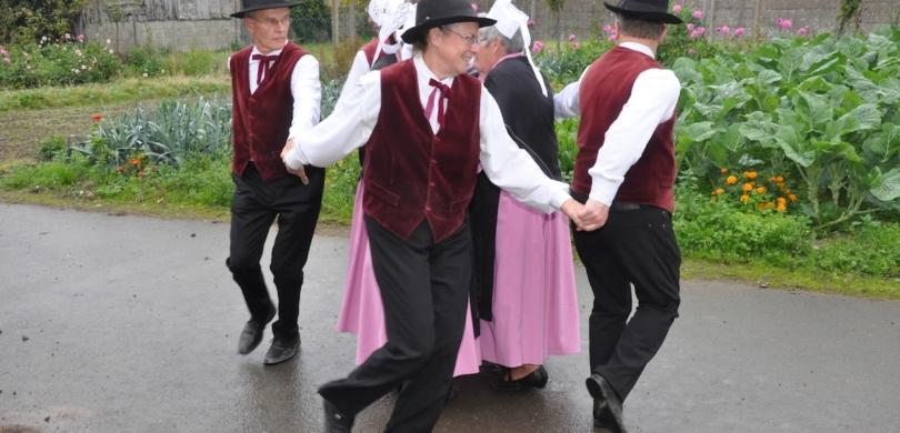 learn french danse en quadrette