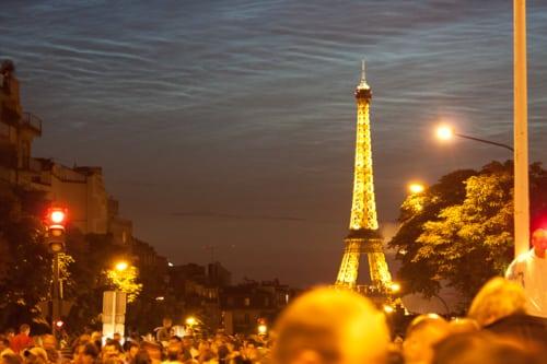 Paris Tour Eiffel By Night