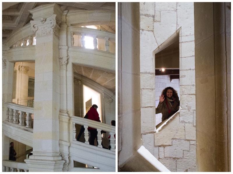 stairs - Chambord