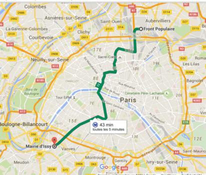 Paris m tro stations pronunciation line twelve - Plan metro paris porte de versailles ...
